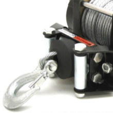 Новинка, резиновая универсальная Стопорная линия, веревка, крюк, лебедка Для вездехода, прочная