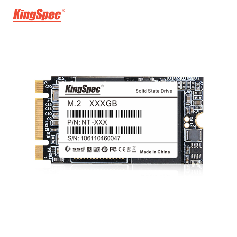 KingSpec 256 GB NGFF M.2 SSD Module 22*42 Interne Solid State Drive Pour Ordinateur Portable M.2 SATA III 6 gb/s Interne disque dur