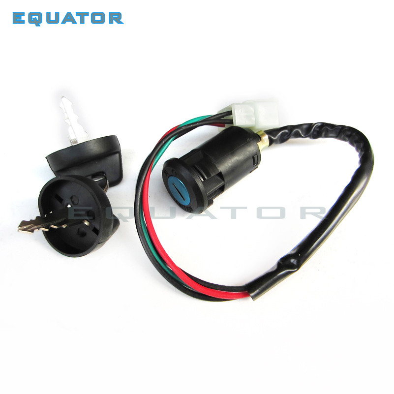 Key Ignition Switch 4 wire 50 70 90 110 125 135cc ATV quad Go-Kart TAOTAO SUNL