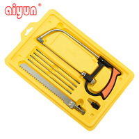 8in1 Mental Magic Saw Hacksaw DIY Hand Saw For Wood Woodworking Saws Set Kit With 6