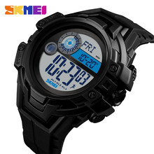 лучшая цена SKMEI 1447 Outdoor Sports Watches Compass Calorie Pedometer Digital Wristwatches  Waterproof Men's Watches Relogio Masculino