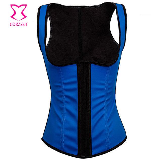 Trainer cintura corpo shaper underbust espartilho corzzet quente trainer cintura látex 6 espiral de aço desossado cintura cincher shapewear das mulheres
