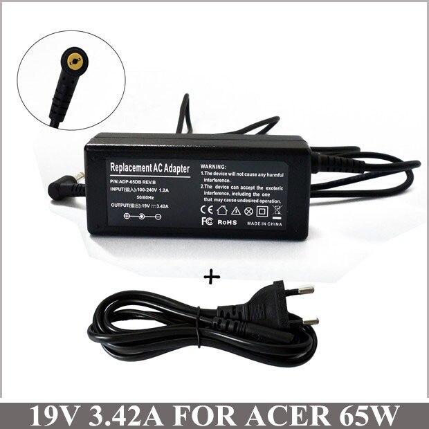 19 В 3.42A универсальное зарядное устройство для ноутбука адаптер переменного тока для Acer Aspire 5315 - 2326 5334 5538 AS5735-4774 AS5810TZ-4657 5250 - 063 5250 - 0895
