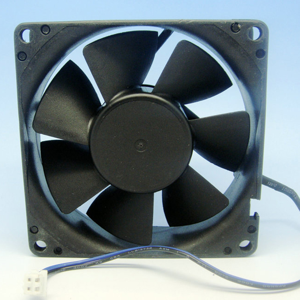 The 8025 line black cooling fan 8CM 8CM power radiator fan with two shots of 2P 12V 0.7 A AUC0812D 8CM/cm fan PWM delta afb0812sh 8025 8cm 80mm 12v 0 51a dual ball fan power supply chassis cooling fan 4 pin pwm fan