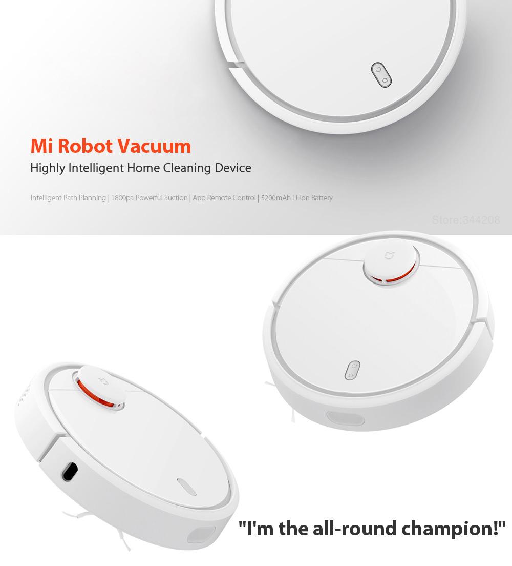 The Amazing XIAOMI MI Robot Vacuum Cleaner