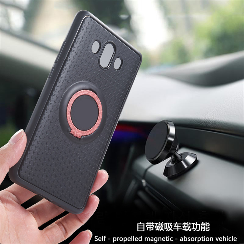 For Samsung Galaxy A8 2018 S9 S8 Plus A5 A7 2017 For iphone 5 5s 6 6s 7 8 X Redmi 5 Case Car Holder Stand Magnetic Suction Cover