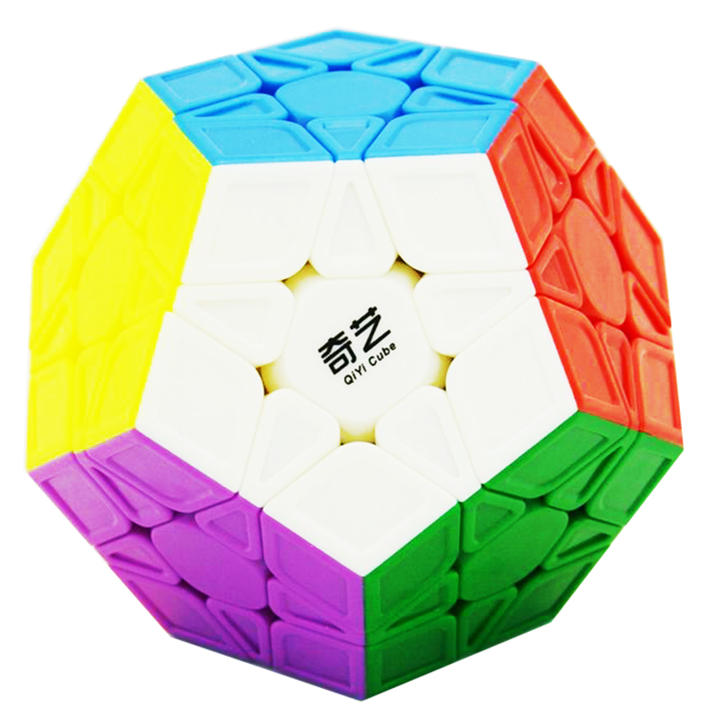 Original Qiyi Qiheng S Megaminx Cube 3x3x3 Magic Speed Cube 12-Sides Cubo Magico Puzzle Speed Learning Educational Special Toys hot ocday special toys 12 side megaminx magic cube puzzle speed cubes educational toy new sale
