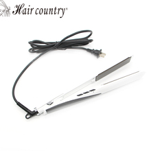 Sale 2017 Peine Alisador Hair Straightenerprofessional Flat Iron Curler Straightener Irons 110v-220v Ceramic Coating Styling Tools