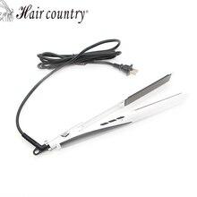 2017 Peine Alisador Hair Straightenerprofessional Flat Iron Curler Straightener Irons 110v-220v Ceramic Coating Styling Tools