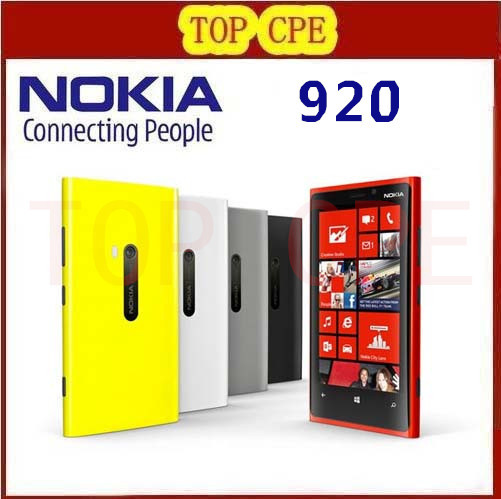 Original Lumia 920 Unlocked 3G 4G Nokia 920 Windows Mobile Phone ROM 32GB 8 7MP GPS