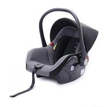 Новинка 2018 года коляска детская корзина детская безопасность сиденье 3 in1 новорожденных Автомобильный перевозчик может сидеть лежать зонтик