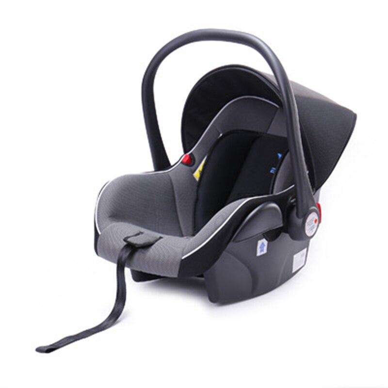 2018 Nouvelle Poussette bébé panier siège de sécurité 3 in1 nouveau-né voiture transporteur peut s'asseoir mensonge vers le bas parapluie enfants cochecito bebe