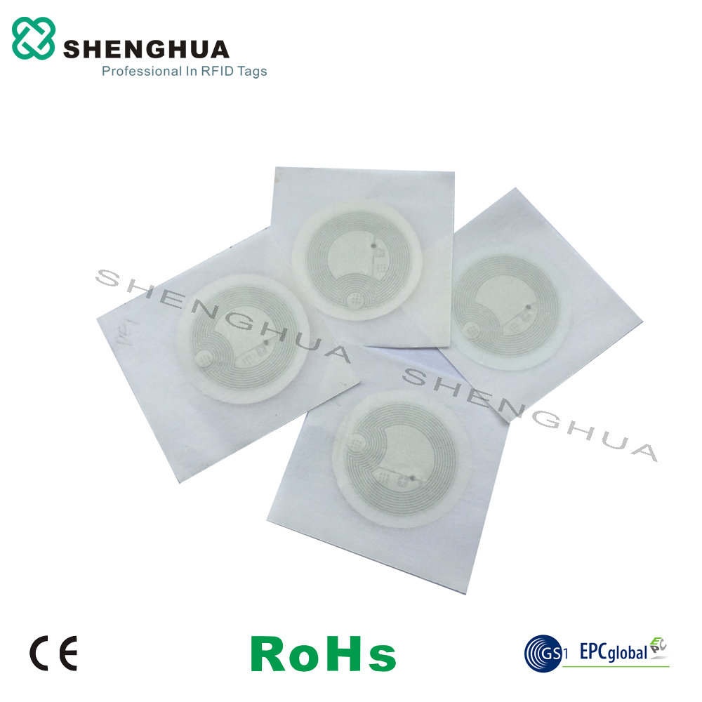 6pcs/lot Logo Printed Adhesive NFC Chip RFID Tag 13.56MHz Coin ISO 14443A RFID Label Programmable with Lowest Price for Mobile