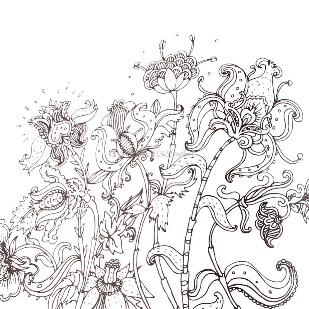 Английский для взрослых граффити подарки Книги Wonderland разведка книжка-раскраска № hc6u # груза падения
