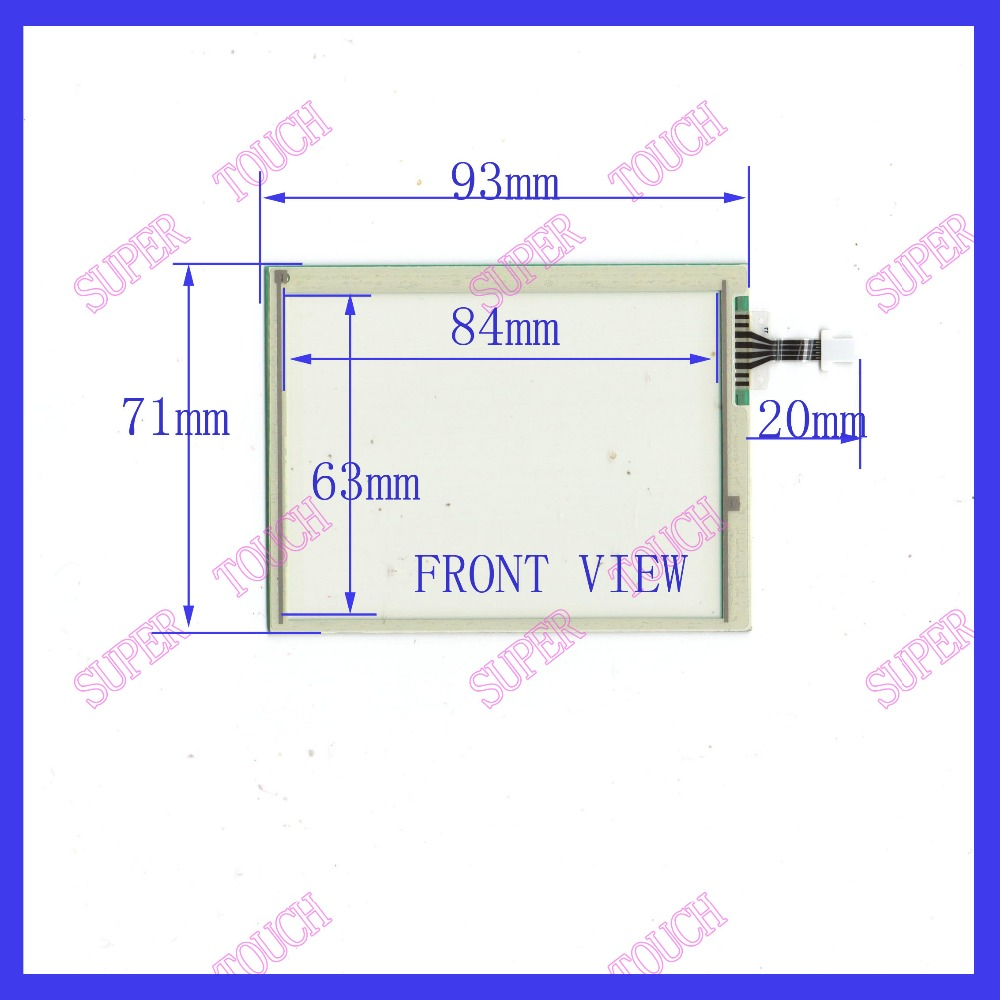 NEW 4 inch four wire resistive Touch Screen 93*71 touch screen FREE SHIPPING