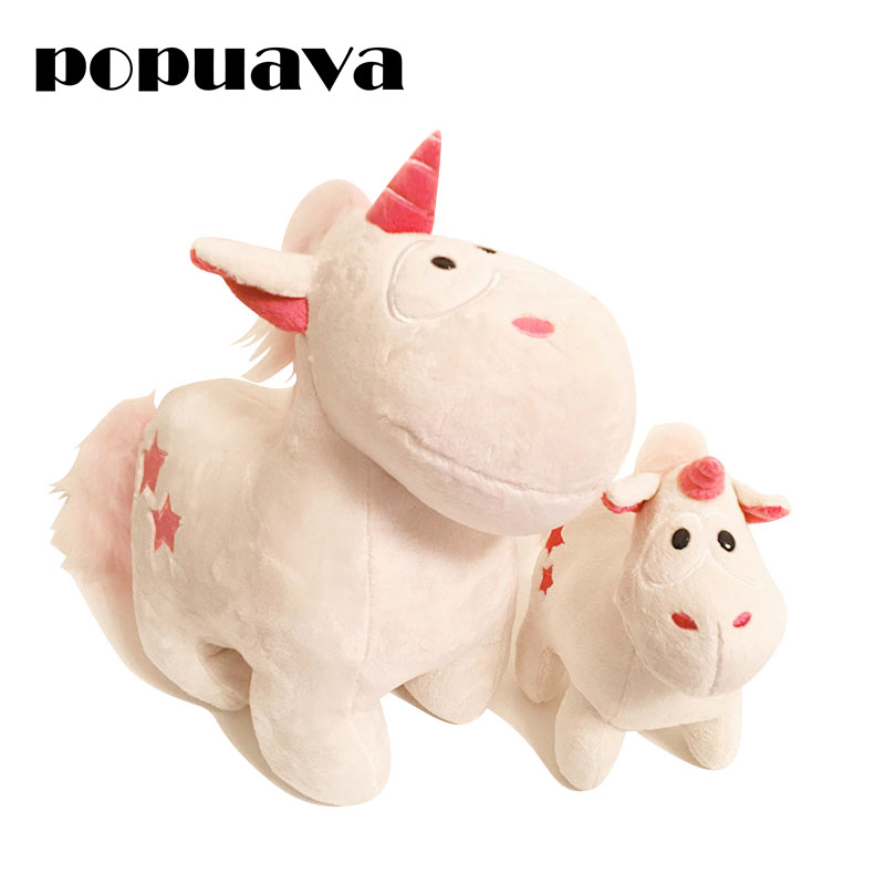 32cm Angel horse unicorn furry doll, Children pacify and baby accompany sleeping toys make friends with your kids best gift