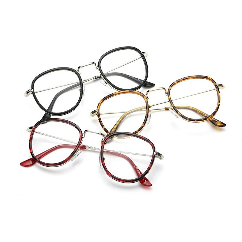New Arrived Non optical Demo Lenses Transparent Glasses Frame Women ...