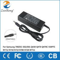AC Adapterชาร์จสำหรับซัมซุง700Z5C-S02/S01 Q430 Q470 Q470C 550P7C RF712 R718 R710 R780 R728 RF711
