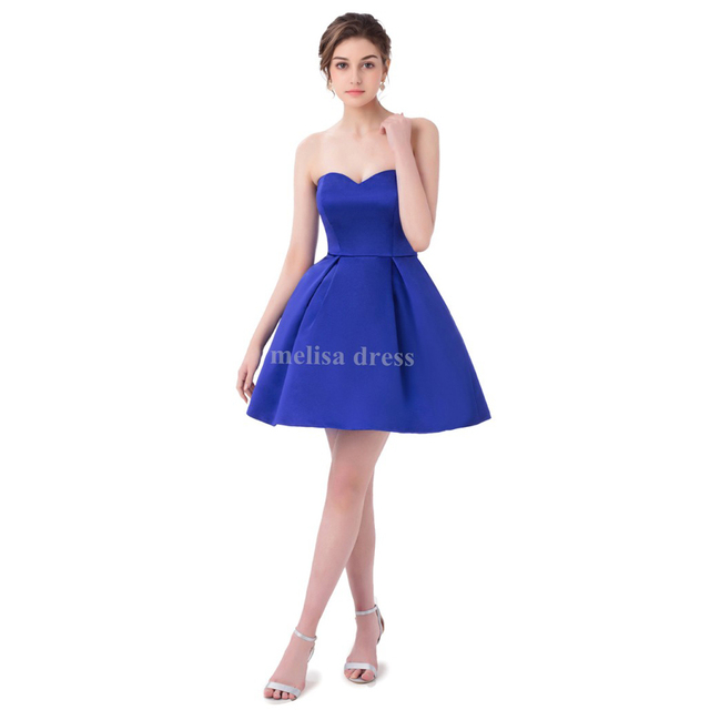 Real Sweetheart Short Min Length High School Prom Dresses for Junior ...