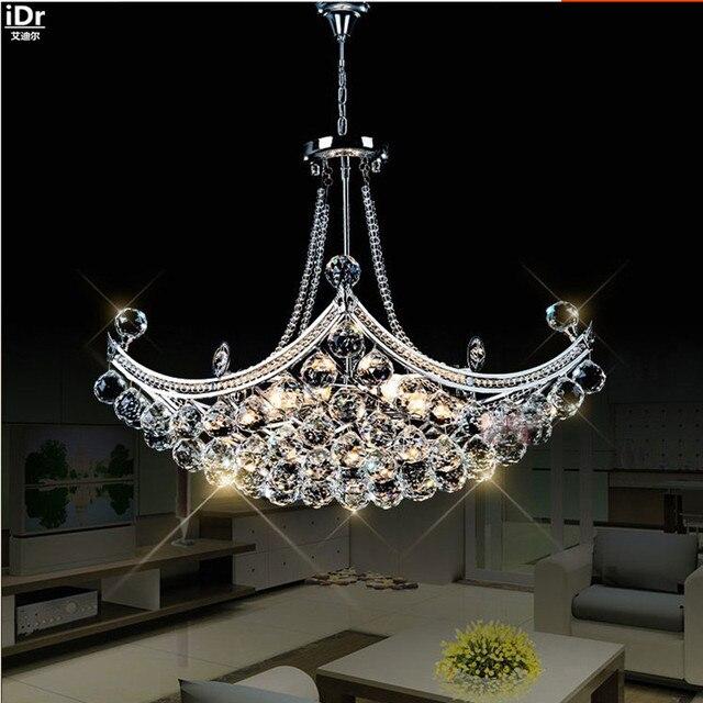 Creatieve Corsair Prachtige Kristal Moderne Mode Minimalistische Woonkamer Restaurant Slaapkamer Led Kroonluchters Dia630xH400mm