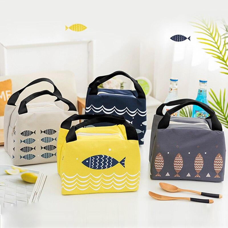 Cartoon Portable Thermo Bag Nipples Baby Bottle Organizador Baby Food Storage Bolsa Termica Baby Feeding Bags