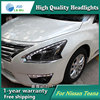Auto Clud Style LED Head Lamp For Nissan Teana 2013 2016 Led Headlights Signal Led Drl