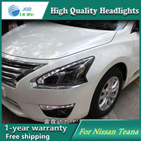 Auto Clud Style LED Head Lamp For Nissan Teana 2013 2016 Led Headlights Signal Led Drl