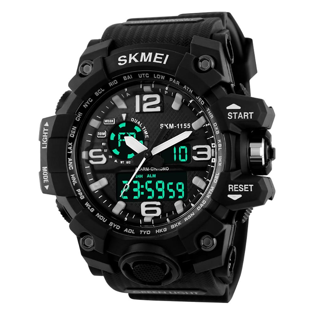 WR50M Waterproof army military WATCHES font b men b font wristwatch automatic sports watch datejust wens
