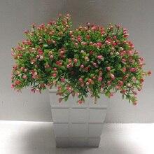Искусственный цветок Миланская трава Цветочная композиция зеленый цветочный горшок гостиная украшение фото реквизит отделка и украшение
