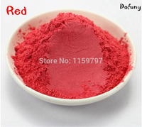 RED color Pearlescent Pigment For Cosmetic Making,Soap Dye Soap Colorant makeup Eyeshadow Soap Powder Free Shipping