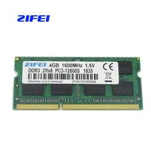 ZIFEI DDR3 Оперативная память 2 GB 4 GB 8 GB 1333 MHz 1600 Mhz 1,5 V & 1,35 V памяти ноутбука so dimm