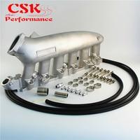 Aluminum Intake Manifold Plenum Fits For Nissan240SX RB25det RB25 Skyline R32 R33 R34