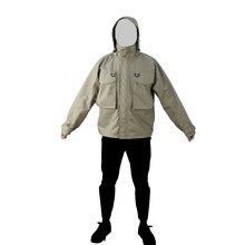 Men Outdoor Hunting Jacket  Fishing  Hiking Waterproof  Wading Jacket Windproof  Outerwear  Waders Coat