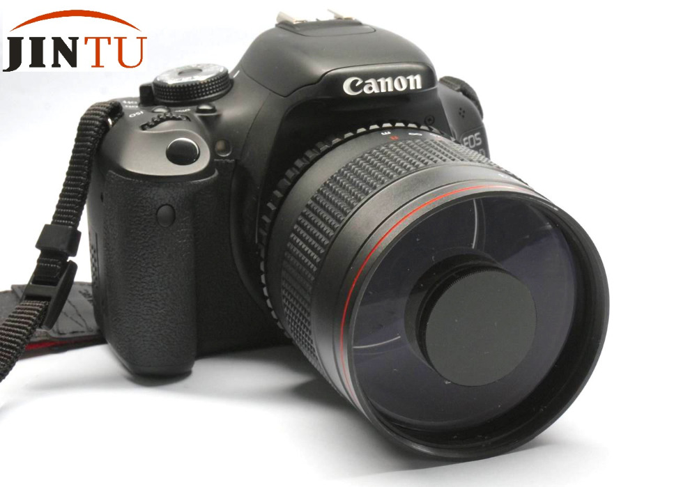 JINTU 900mm f/8.0 Super Mirror Telephoto Manual Focus Lens + T2 Mount Adapter For Sony E NEX Camera A7 A7R A7RII A7RS A7II A6000 цена