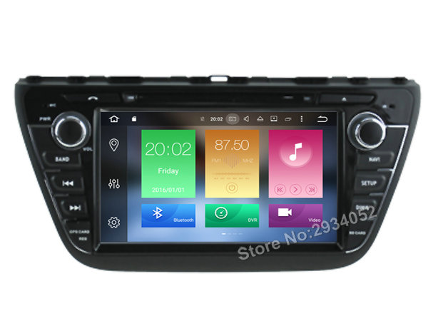 FOR SUZUKI S CROSS 2013 2015 Android 8 0 Car DVD player Octa Core 8Core 4G