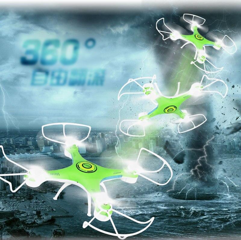 Mini RC quadrirotor jouets avec 0.2mp caméra sans tête LED pour enfants garçons dron télécommande drone cadeau