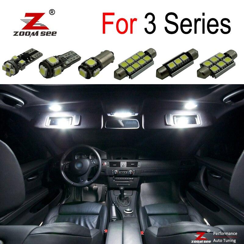14x BMW E90 E91 E92 INTERIOR CANBUS CEILING DOME LED SMD LIGHT BULB KIT WHITE