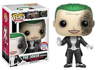 In Stock NYCC Exclusive Funko pop Official Suicide Squad The Joker Grenade Vinyl Action Figure Collectible Model Toy