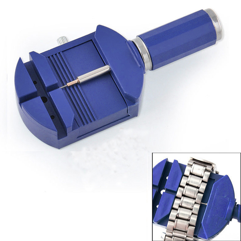 1pc New Adjuster Repair Tools Watch Band Hot Sale Bracelet Wrist Practical Link Strap Remover Blue Disassemble the Watch Kits the new spm20g601h and disassemble