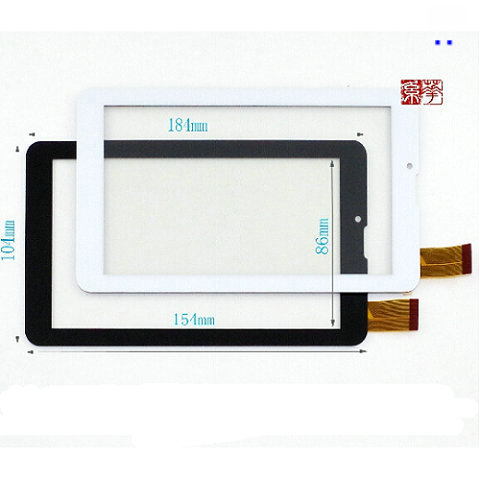 New touch screen Digitizer For 7 Prestigio MultiPad Wize 3047 PMT3047 3G 3057 Tablet Touch panel Glass Sensor Replacement witblue new for 10 1 prestigio multipad wize 3131 3g pmt3131 3g d tablet digitizer touch screen panel glass sensor replacement
