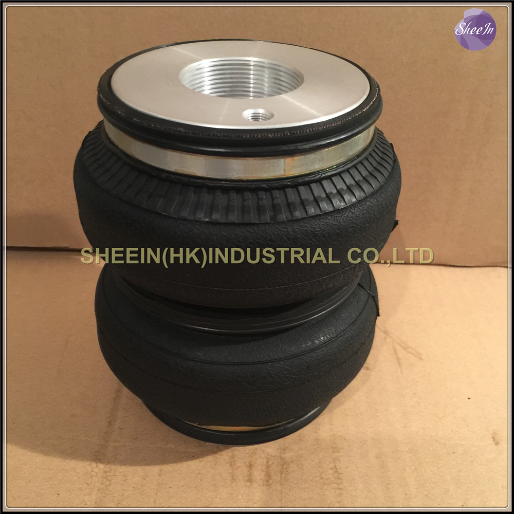 ФОТО AIRLIFT5814/SN142156BL2-DT(M50*2) Fit D2 coilover M50*2 double convolute air spring/pneumatic/Rubber/air suspension /air bellow