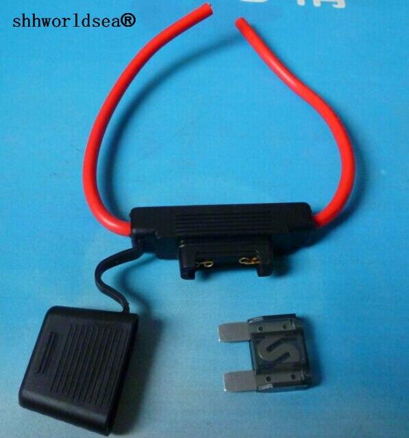 shhworldsea motorcycle maxi waterproof blade fuse holder with 8awg rh aliexpress com