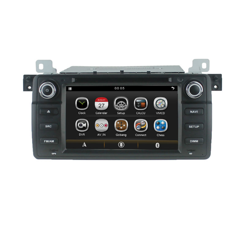 7 car dvd autoradio gps navigation for bmw e46 m3 318 320. Black Bedroom Furniture Sets. Home Design Ideas