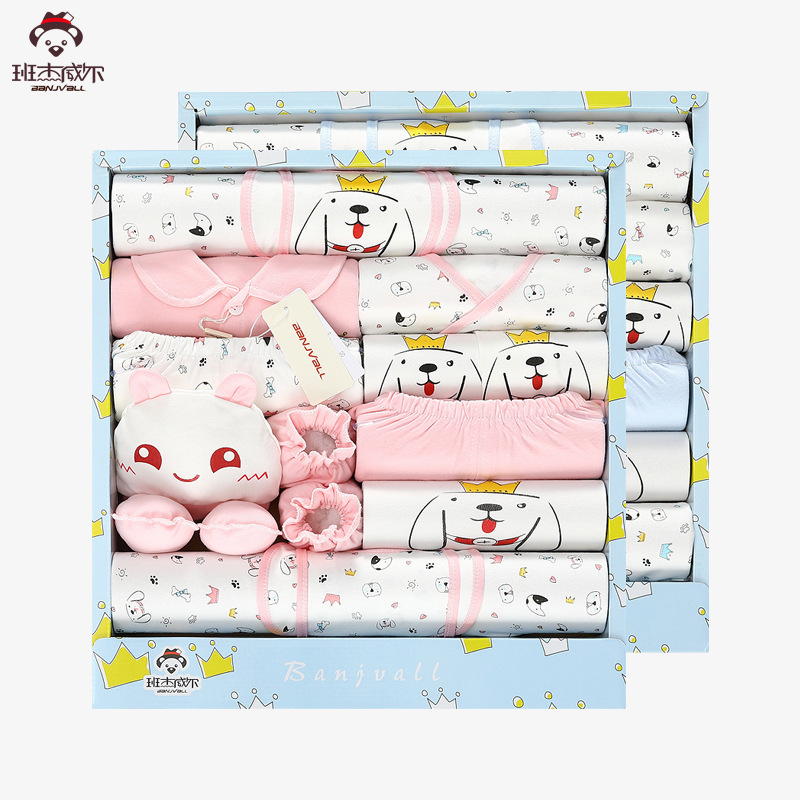 Baby Clothes Newborn Cotton Spring And Autumn 0-3-6 Months Just Born Full Moon Baby Gift cotton 10 piece sets newborn clothes gift box spring and autumn new born baby suit mother and baby full moon kids gift clothes