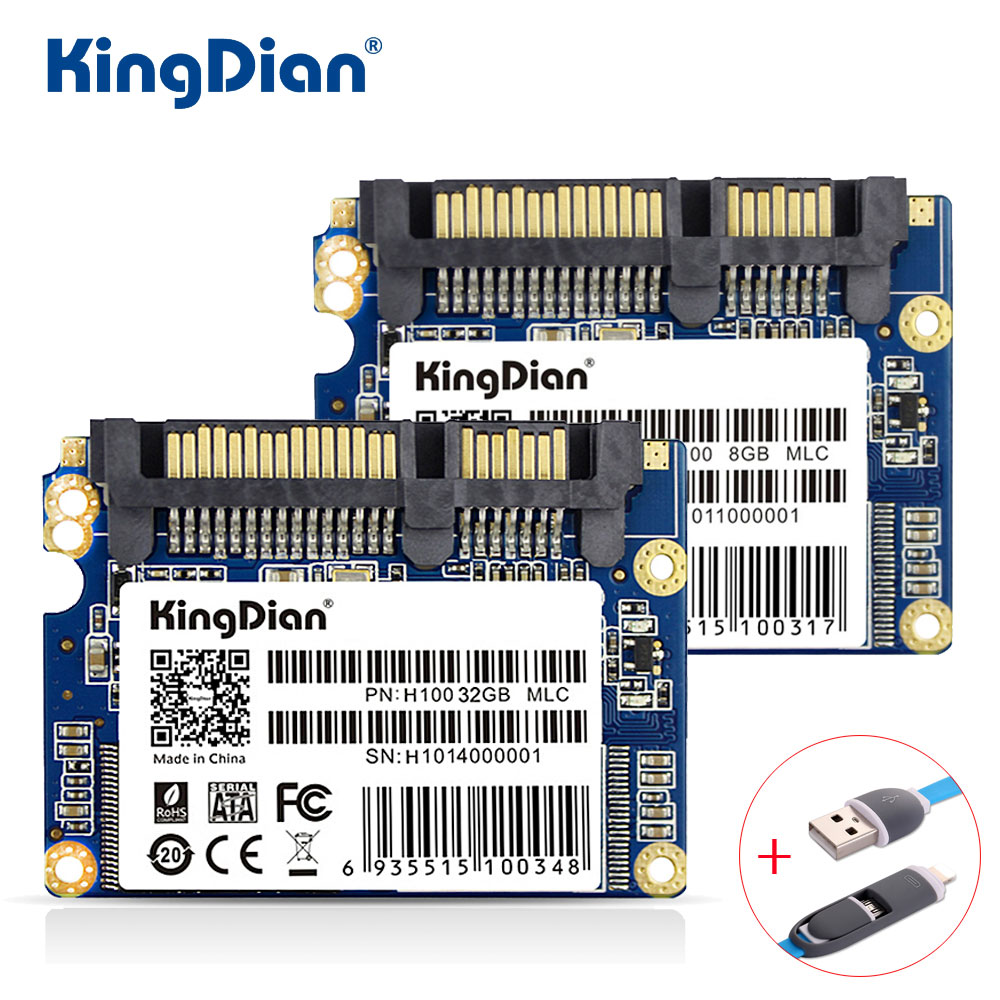 KingDian SSD 8GB 16GB 32GB H100 3 Years Warranty SATA SATA2 Hard Drive Disk 8G 16G