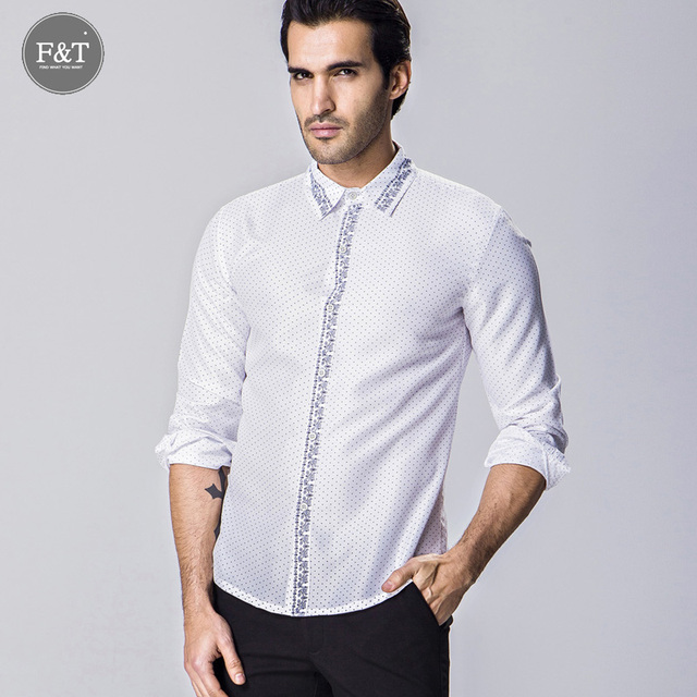 Pinstripe Sleeveless Men's dress shirt with Asian print fabric Vbo8ik