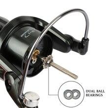 Spinning Reel Fishing Reel 1000-7000 Series Boat Rock Carp Fishing Wheel Aluminum Spool