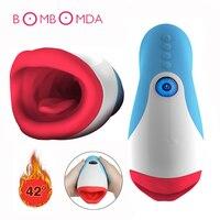Electric Vibrating Blowjob Deep Throat Pulse Electric Male Masturbators Cup Sucking Vibrators Adult Sex Toys For Men Sex Machine