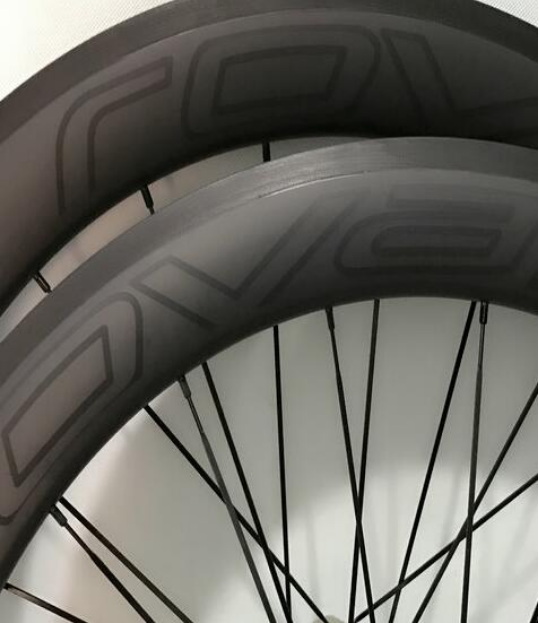 Free Shipping 700C 3k matte clincher RoVAL Carbon Road Wheelset with shimano 11s powerway hubs Bike carbon wheelset Taiwan Made