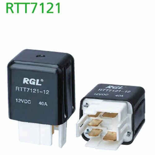 RGL 12V-24V RTT7121 40A small electromagnetic relay 5 pin  car / DIY General Electric Relays